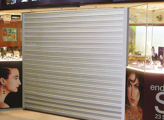 High Security Roller Shutter