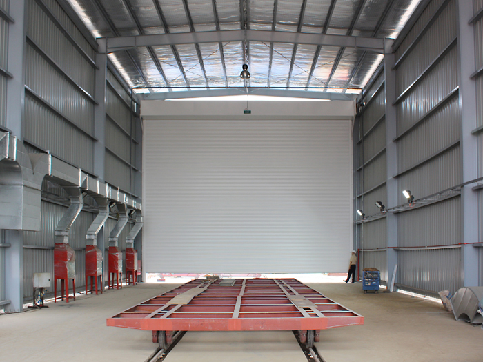 Giant Series Extra Large Roller Shutters Gliderol Doors