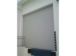 Self-locking Aluminium Roller Shutters for high security applications